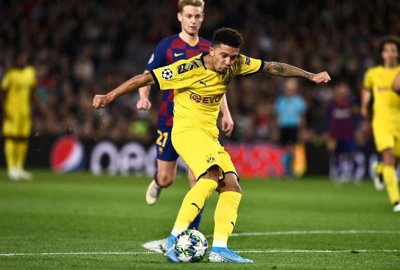 Image result for sancho vs barcelona 2019